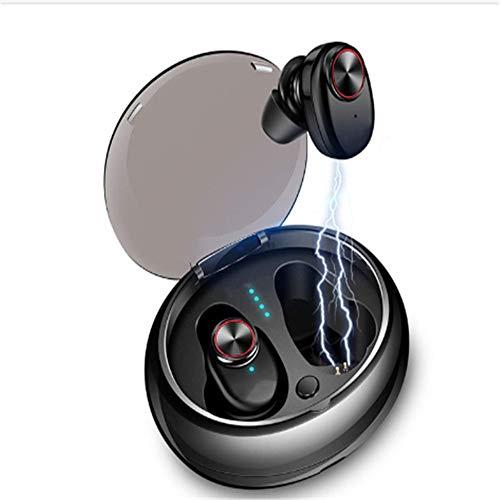 TQBT Bluetooth-KopfhöRer, Freisprech-Dual Drahtlose KopfhöRer V5. 0 OhrstöPsel Telefon Pc Tv Pad-Auto-Sport-Spiel