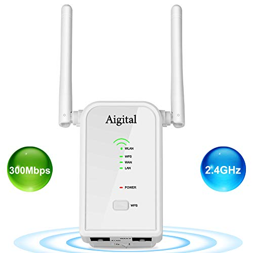 Aigital 300Mbps Repetidor WiFi Router inalámbrico
