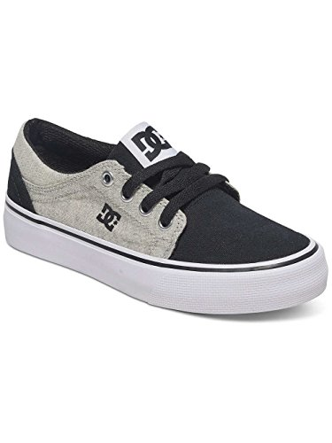 DC Shoes Trase Tx Se, Baskets Basses Garçon Noir
