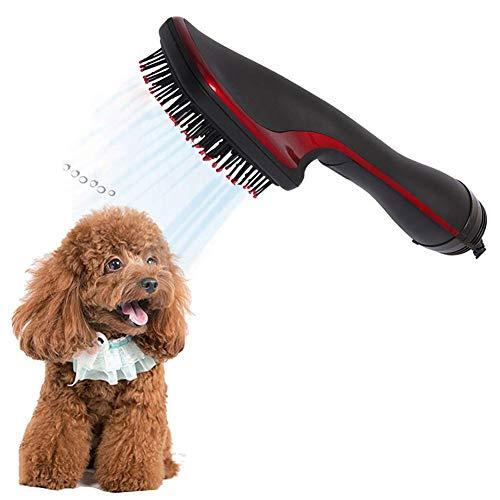 CHQQQ Secador De Animales Low Noise 2 En 1 Eléctrica Secador De Pelo Rizador Peine Perros Gatos Grooming Cepillo Peine Y Secadora Accesorios para Perros Perro Mascota