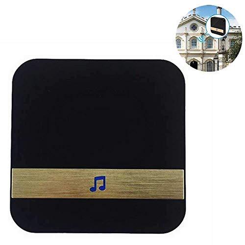 Entry Magnetic Alarm (Home Doorbell, Tür Chime Wireless Door Entry Alarm Magnetic Door Sensor Vor allem verwendet Video Doorbell,Black)