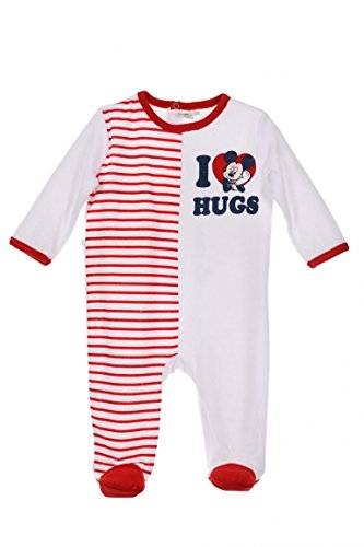 Disney -  pigiama intero - bebè maschietto rosso rosso