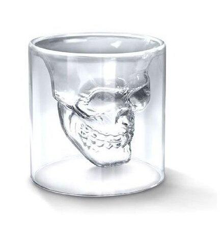 Glas,Totenkopf,Schädel,Skull Head,Alkohol,Schnaps,Shot