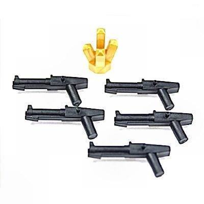 LEGO Star Wars–Blaster für Soldaten Klon (5Stück) und Glas Gold