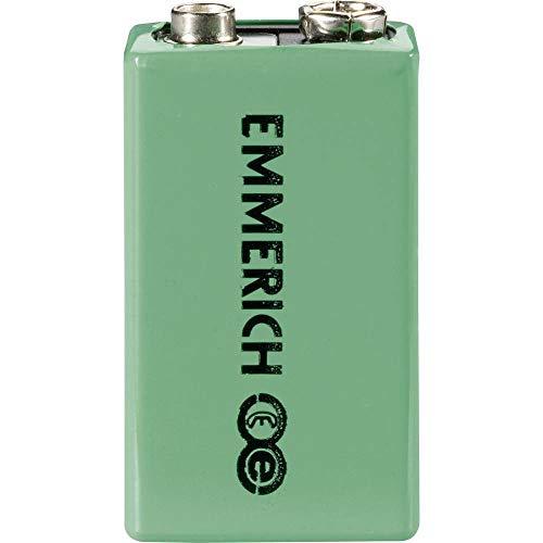 Emmerich 6LR61 9 V Block-Akku NiMH 200 mAh 9.6 V 1 St. -