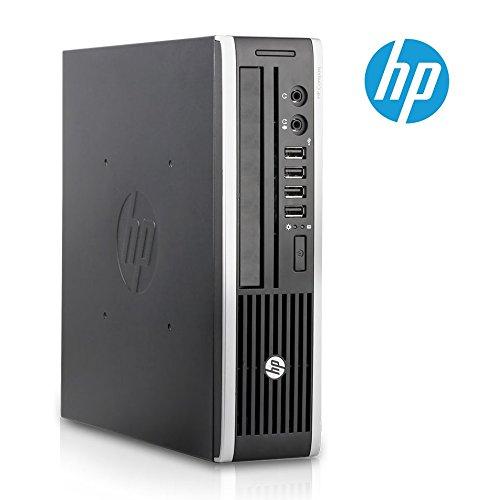 Hewlett Packard HP Compaq 8200 Elite USDT Mini PC de bureau (Intel Core i3-2100 CPU 3.10 GHz, 4 Go de RAM, disque dur 250 Go, Windows 7 Professionnel 64 Bits)