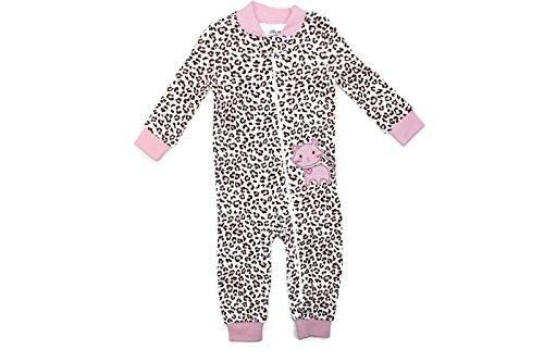 Little Me Footie Baby Footed Pajamas Sleeper (Pink Multi, 2T) (Sleeper Pink-footed)