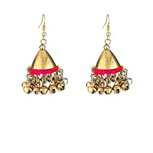 Watch Me Ethnic Traditional Jhumka Jhumki Party Wear Hangings for Women and Girls set combo Jewellery for Womens WMRPG-031