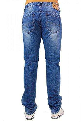 DIESEL Thavar 0RB04 Herren slim - skinny Jeans Blau