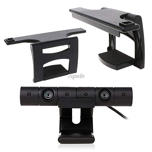 Value-5 Star Halterung für PS4 TV Ständer, für PlayStation 4 / PS4 Eye Camera Sensor Verstellbare Clip-Halterung
