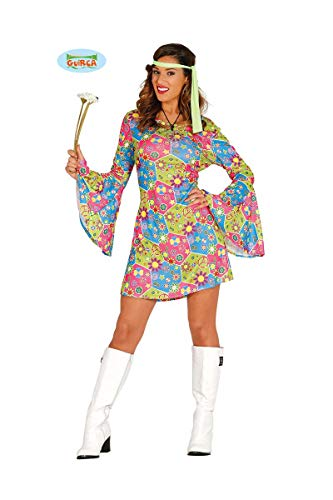 Hippie Kostüm Carnevale - Guirca Kostüm Hippie Flügel bunt 80638