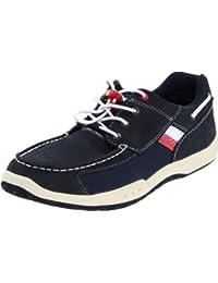 Timberland EK F/L SPT BOATOX NVY/WHI, Zapatos Planos Niños Unisex