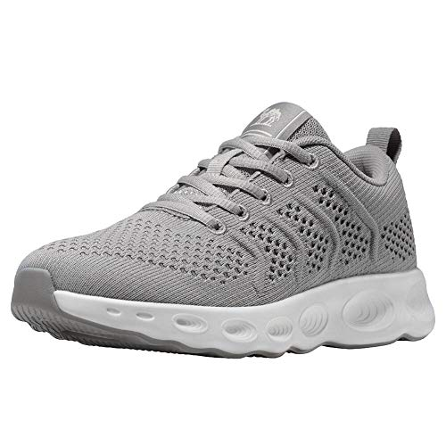 CAMEL CROWN Chaussures de Fitness Femme Air Baskets Chaussures Gym Sport Sneakers Running Respirante