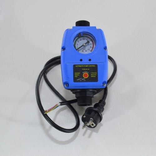 Pumpensteuerung Druckwächter Gartenpumpe Hauswasserwerk Trockenlaufschutz bis 10 bar