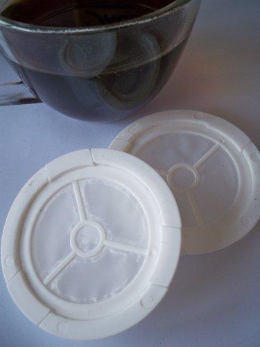Das nachfüllbare Kaffeepad, 2er Set für alle Senseo Maschinen von James Premium
