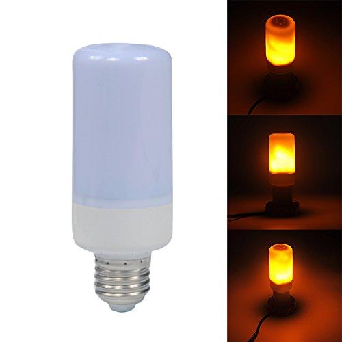 Flackernde Lampe, LED-Flacker-Glühbirne, Flammen-Glühbirne, Vintage-Atmosphäre-Lampen, Wand-Laterne, Stimmungs-Lampe mit Feuereffekt, flackernde Emulation für Garten Bar Home Decor