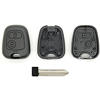Saxo without Screws Xsara Picasso 2-Button Remote Key Shell for Citroen Berlingo