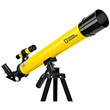 National Geographic 90-01001 50/600 Refractor Telescope Fixed - Yellow