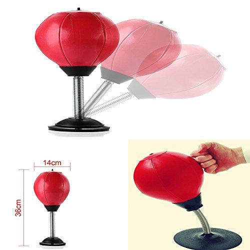 Desktop Punch Ball Home / Büro Stress Beater Mini Stick-on Stanztasche Stanzkugel (Viel Stress-ball)