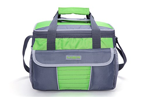 5dd89c1a8365a MIER Large Soft Cooler Bag Insulated Lunch Box Bag Picnic Cooler Tote with  Dispensing Lid, Multiple Pockets