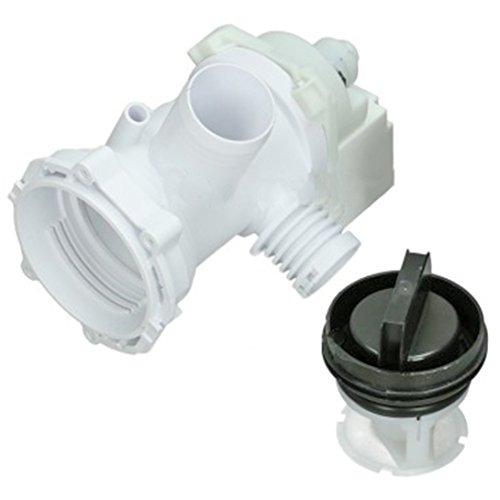 spares2go 24W Plaset Ablaufpumpe Pumpe Typ und Filter Einheit für Indesit Waschmaschine...