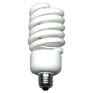 Walimex Ampoule à lumière du jour en spirale (50W, correspond à 250W) pour photographies en studio ou de produits