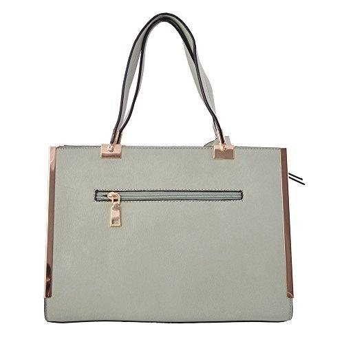 LeahWard® Damen Groß Mode Essener Berühmtheit Tragetaschen Damen Qualität Schnell verkaufend Modisch Handtaschen CWS00319B CWS00319C CWS00319 Rot 1055