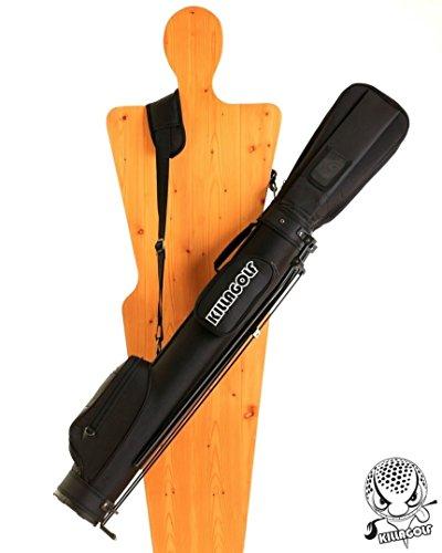 KILLAGOLF K:131 - Standbag / Reisebag mit automatischen Klappfüssen, gepolstertem Kopfteil und Tragegurt (Durchmesser 5