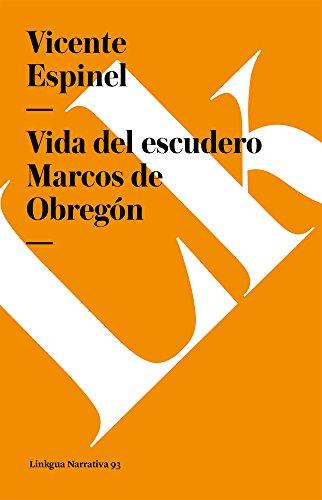 Vida del Escudero Marcos de Obregon Cover Image