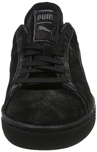 newest d2a3e 0236f Puma Men's Suede Classic Distressed Low-Top Sneakers, Black ...