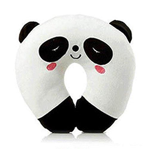 Reisekissen, U-förmiger Nackenkissen für Reise-Nackenkissen für Flugzeug, Plüsch-Kissen-Kissen, Cartoon-Tier-Kopfstütze, geeignet für Erwachsene, Kinder