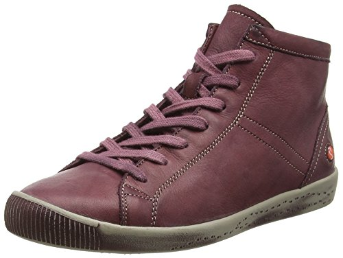 Softinos Isleen Washed, Baskets Basses Femme Violet - Purple (Magenta)