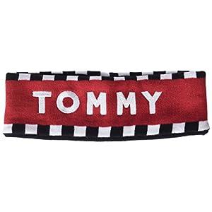 Tommy Hilfiger Tommy Logo Head Band Cinta para la Cabeza, Negro (Corporate 901), única (Talla del Fabricante: OS) para Mujer
