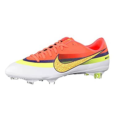 mercurial vapor ix cr football boots nike firm ground soccer cleats cristiano ronaldo pro 9 carbon plate 580490 174 (uk 8     us 9)
