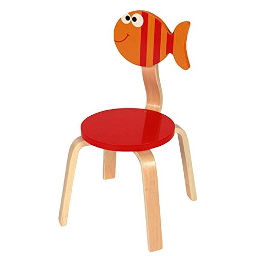 SCRATCH 6182302 - Stuhl Fisch Maurice, 33 x 33 x 65 cm