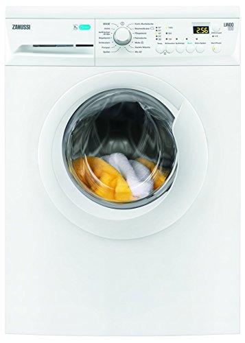 Zanussi ZWF71443W Waschmaschine FL/A+++ / 171 kWh/Jahr / 1400 UpM / 7 kg / 9499 L/Jahr/GentleCare Trommel/LC-Display/weiß