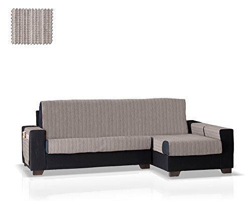 JM Textil Salvadivano per Chaise Longue Rino, bracciolo Destro, Dimensione Standard (243 Cm.), Colore 06 (Vari Colori Disponibili)