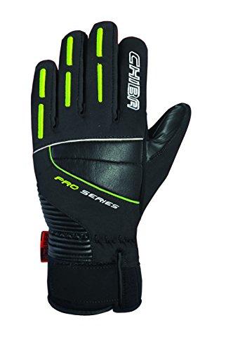 Chiba Herren Olympischen Polyester Handschuhe, Herren, Olympic, schwarz, Size 6.5