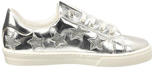 North Star Damen 5411271 Hohe Sneaker Silber