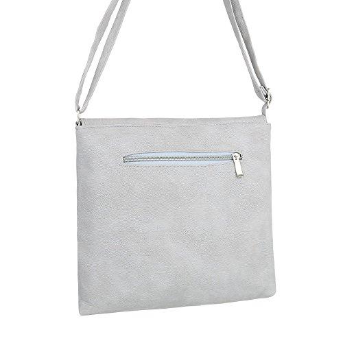 Taschen Umhängetasche Hellgrau