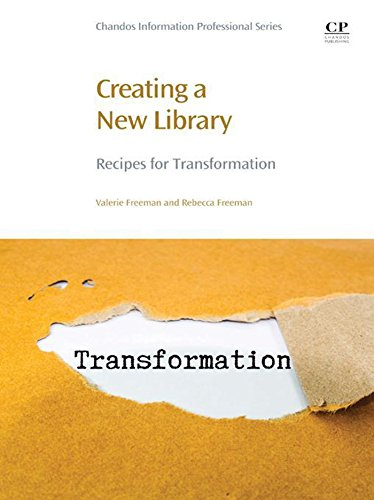 Creating a New Library: Recipes for Transformation (Club Creation Science)