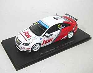 Spark Model S2455 Chevrolet Cruze 1.6T N.23 WTCC 2013 TOM Chilton 1:43 Auto Com