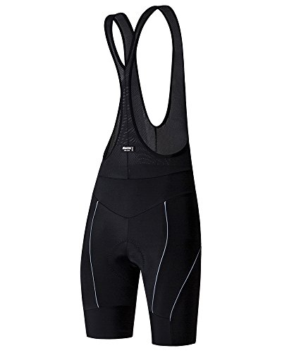 SANTINI 365 SP1064GILREA2   SANTINI REA 2 WOMENS BIB SHORTS GIL 2 PAD BLACK MEDIUM