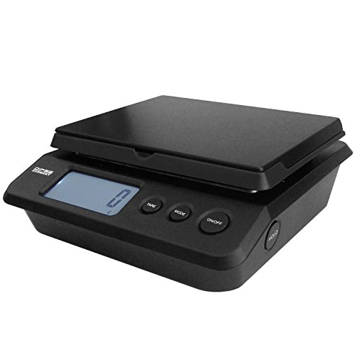 Dipse Parcel 25 / 20 / 10 kg - Digitale Paketwaage Briefwaage mit Netzteil oder Batteriebetrieb und 2g / 1g / 0,5g Teilung