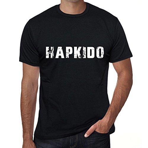 Hombre Camiseta Vintage T-Shirt Hapkido X-Large