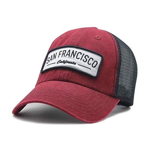 TRGFB Baseball Cap 5 Farben Trucker Hats Für Männer Frauen Baseball Cap Mesh Gewaschene Kappen Hysteresenhut Knochen Gorras Casual Casquette - Gewaschen Nylon-kappe
