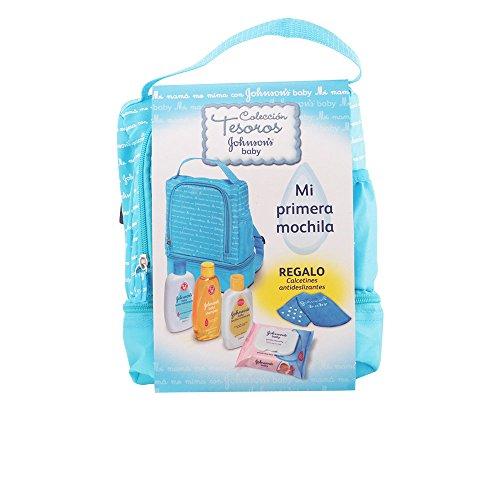 johnsons-baby-mochila-set-de-champu-bano-hidratante-locion-hidratante-toallitas-y-calcetines-antides