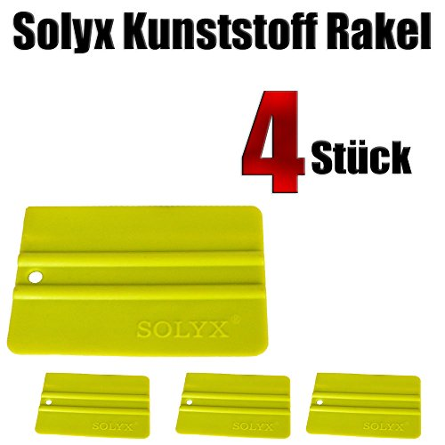 reputable site c8bf7 50615 Solyx Squeegee Green Pack of 4 – Car Stickers – Vollfolierung – Wandtattoo  Sticking