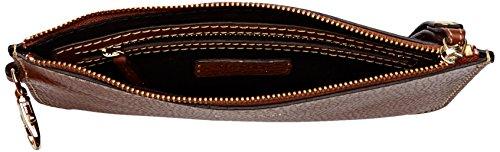 Loxwood - Pochette Cuir, Pochette Donna Marrone (Sahara)