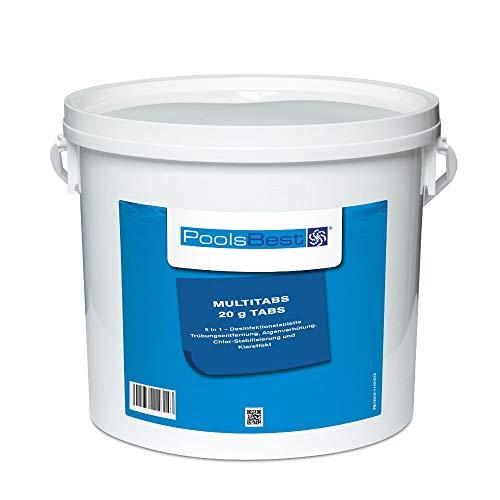 5 Kg - PoolsBest® Mini - Multitabs 5 in 1, 20 g Tabletten